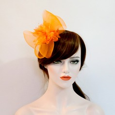 Dame Smukke Netto garn/Silke Blomst Panden Smykker/Hue