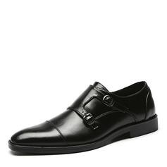 Men's Leatherette Monk-straps Casual Men's Loafers