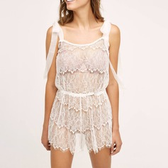 Lace/Polyester Sexy Bridal/Feminine Lingerie Set