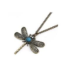 Dragonfly Aleación De mujer Collar de la manera