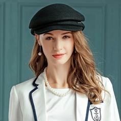 Damen Nizza Wollen Baskenmütze Hut