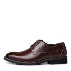 Miesten Keinonahasta Nauhakenkä Juhlakengät Tehdä työtä Miesten oxford-kengät