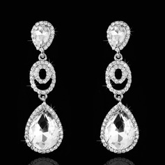 Elegant Rhinestones Ladies' Earrings (011074696)