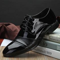 Męskie Skóra Ekologiczna Sznurowanie Nieformalny Buty wyjściowe Oxfordy męskie