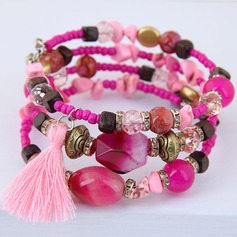 Classic Alloy Resin Women's Fashion Bracelets (Sold in a single piece)