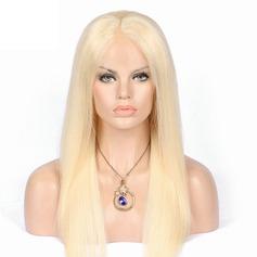 5A Vierge/Remy Tout droit Cheveux humains Perruques avant en dentelle