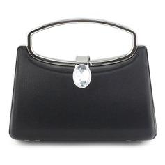 Charming PU With Rhinestone Wristlets/Fashion Handbags