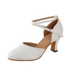 Donna Similpelle Tacchi Stiletto Swing con Listino alla caviglia Scarpe da ballo (053077982)
