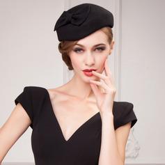 Sonar Naisten Yksinkertainen Villa jossa Bowknot Beretin hattu (196075349)