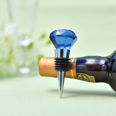 Classic Crystal Diamond Crystal Bottle Stopper