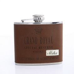 Personalized Grand-Royal Stainless Steel Flask