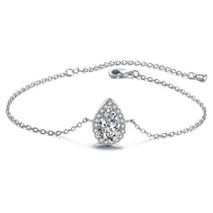 Christmas Gifts For Her - Cubic Zirconia Alloy Delicate Chain Bridal Bracelets (106215292)