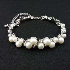 Klassisk stil Legering/Strass/Fauxen Pärla Damer' Armband