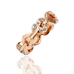 Beautiful Alloy/Rose Gold Plated Ladies' Rings