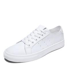 cuir avec Dentelle Baskets & Chaussures de sport