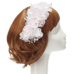 Belle Strass/Pearl/Mousseline Fleurs et plumes