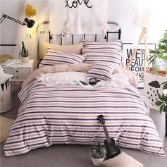 Traditionella / Classic vackra och polyester Bed & Bath (4st: 1 täcke täcke 1 sängklädsel 2 örngott)