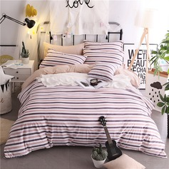 Polyester 4-Piece Comforter Set (4pcs :1 Quilt Cover 1 Bed Sheet 2 Pillowcase)