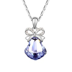 Christmas Bell Alloy/Crystal Women's/Child's Necklaces