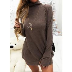 Lässige Kleidung Einfarbig Pullover (1002251574)