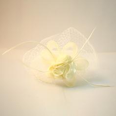 Дамы Красивая чистая пряжа/шелковые цветы лоб ювелирные изделия