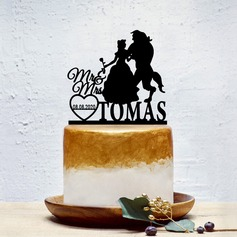 Personalizado Pareja Clásica/Dulce Amor Acrílico Decoración de tortas