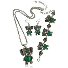 Moda Liga Turquesa Mulheres Conjuntos de jóias