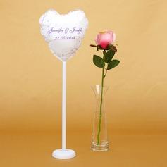 Personlig Blom-design PVC Bröllops ballong