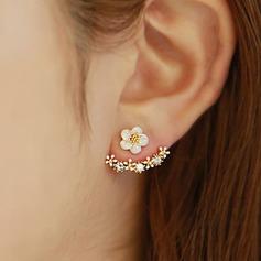 Beau Alliage Dames Boucles d'oreille de mode (137121808)