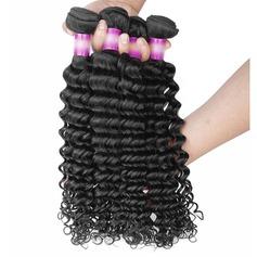 5A Virgin / remy Profond les cheveux humains Tissage en cheveux humains (Vendu en une seule pièce) 100 g