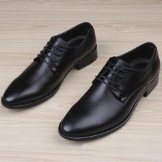 Men's Leatherette Cap Toes Lace-up Dress Shoes Men's Oxfords
