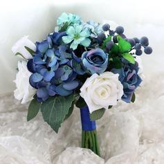 Blomstringen Rund Silke/Klut Brudepike Buketter -