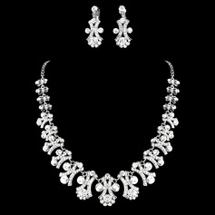 Gorgeous Alloy/Rhinestones Jewelry Sets