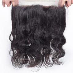 360 Frontal 4A Körper Menschliches Haar Bedeckung (Einzelstück verkauft)