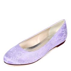 Femmes Dentelle Talon plat Chaussures plates