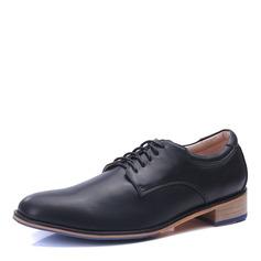 Men's Microfiber Leather Lace-up Derbies Dress Shoes Men's Oxfords