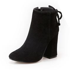 De mujer Ante Tacón stilettos Botas Botas al tobillo zapatos