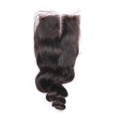 """4""""*4"""" 4A Nicht remy Lose Menschliches Haar Bedeckung (Einzelstück verkauft) 30g"""