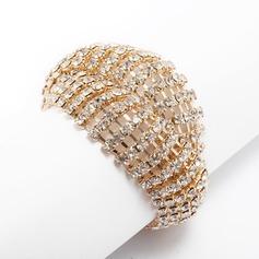 Alloy With Rhinestone Ladies' Bracelets