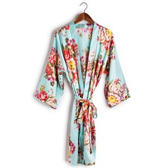 Bridesmaid Gifts - Beautiful Classic Charmeuse Robe (256170262)