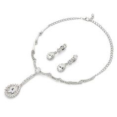 Klassisk Legering med Kristall Damer' Smycken Sets