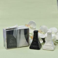 Classic Ceramic Salt & Pepper Shakers