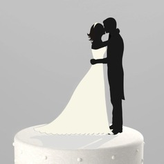"Figurine ""Sweet Hug"" Acrylic Wedding Cake Topper/Bridal Shower Cake Topper"