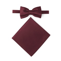 Classic Bow Tie Pocket Square satin