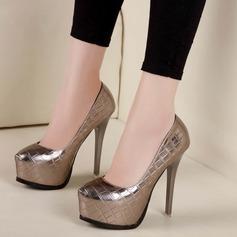 De mujer Cuero Tacón stilettos Salón Plataforma con Otros zapatos