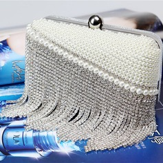 Classique Cristal / Strass/Perle d'imitation/Alliage Pochettes/Cartable