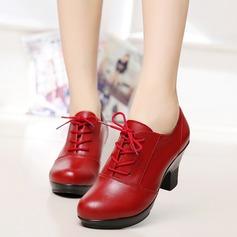 Women's Leatherette Pumps Swing Dance Shoes