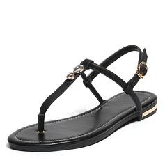 Naisten PU Matalakorkoiset Heel Sandaalit Matalakorkoiset jossa Solki kengät