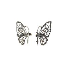 Em forma de borboleta Liga Senhoras Anéis Moda
