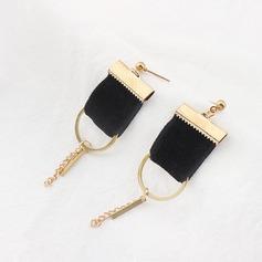 Vackra Och koppar Silke Damer' Mode örhängen